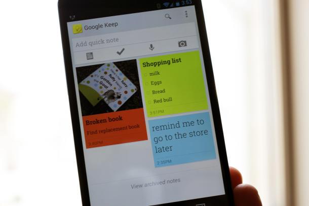 スマホでメモするのに便利なアプリ『Google Keep』